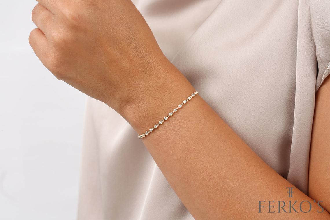"Diamant Armband ALESSENDRA I 585er Gold 0,60Karat"""