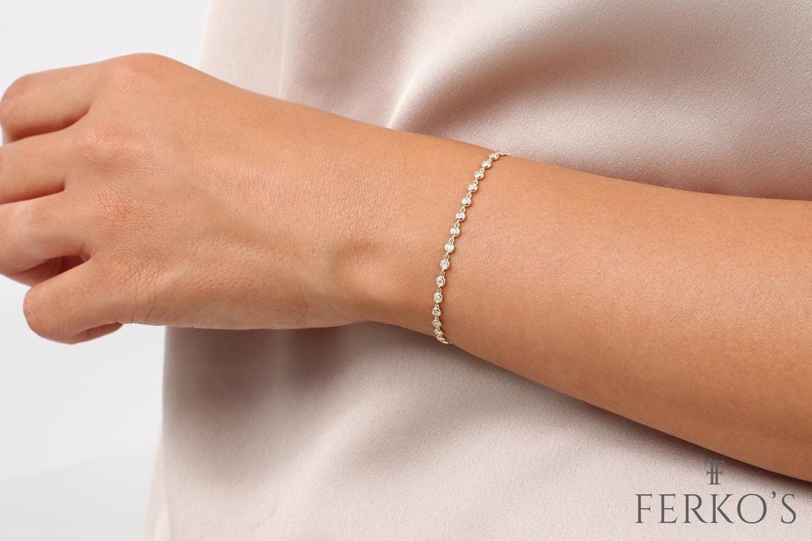 """Diamant Armband ALESSENDRA I 585er RoseGold 0,60Karat"""""""
