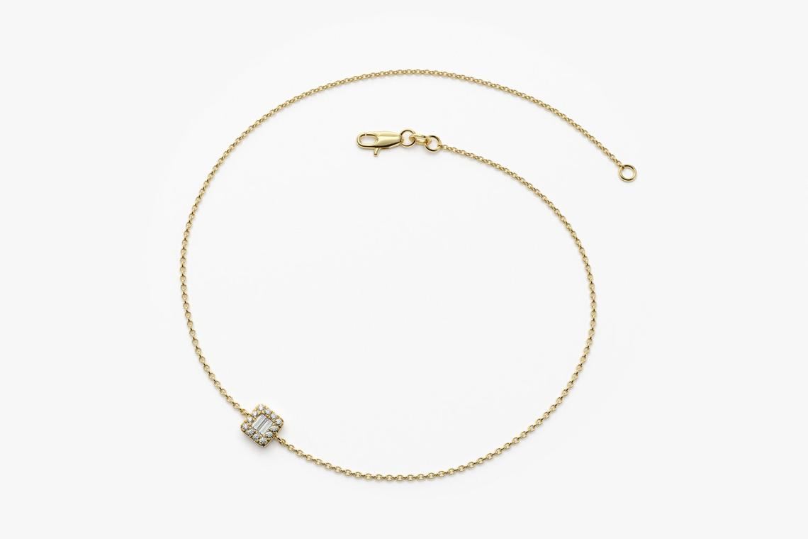 Diamant Armband BIANCA I 585er Weißgold 0,10 Karat