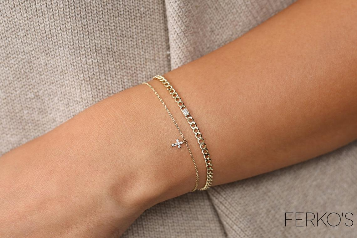 Diamant Armband CAMILA I 585er Gold 0,36 Karat