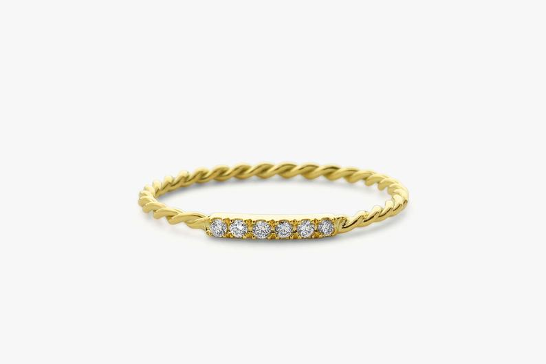 Diamant Ring NINA I 585er Gold 0,05 Karat
