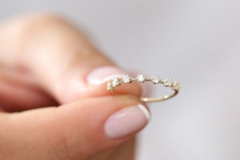 Diamant Ring DIANA I 585er Gold 0,27 Karat