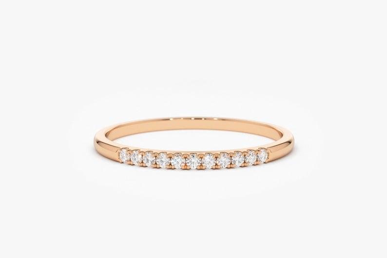 Diamant Ring JULIETTA I 585er Weißgold 0,10 Karat