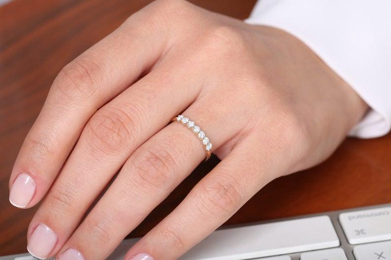 Diamant Ring MILENA I 585er Gold 0,45 Karat