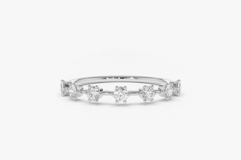 Diamant Ring DIANA I 585er Weißgold 0,27 Karat