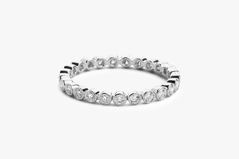 Diamant Ring LUNA I 585er Weißgold 0,30 Carat
