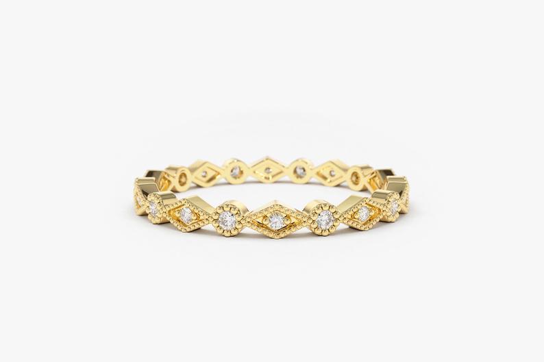 Diamant Ring LINDA I 585er Gold 0,12 Karat