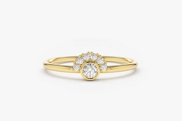 Diamant Ring NICOLE I 585er Gold 0,14 Karat