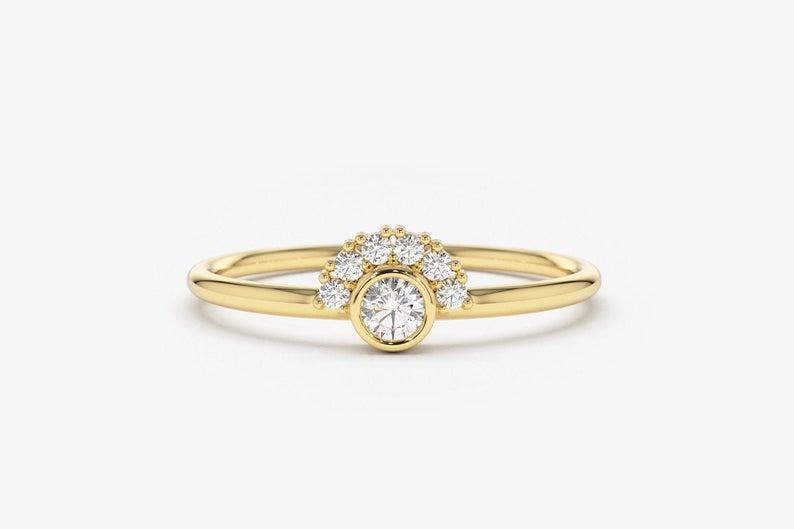 Diamant Ring NICOLE I 585er Gold 0,14 Karat