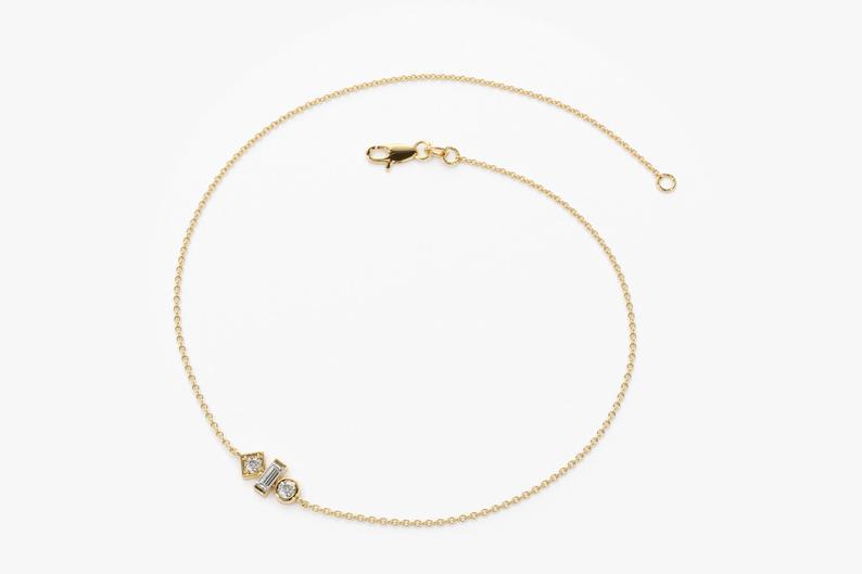 Diamant Armband LUISA I 585er Gold 0,10 Karat