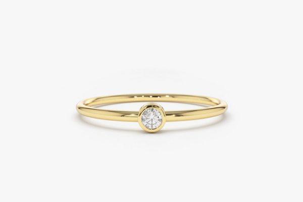 Diamant Ring NICOLETTE I 585er Gold 0,06 Karat