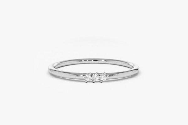 Diamant Ring OLIVIA I 585er Weißgold 0,05 Karat