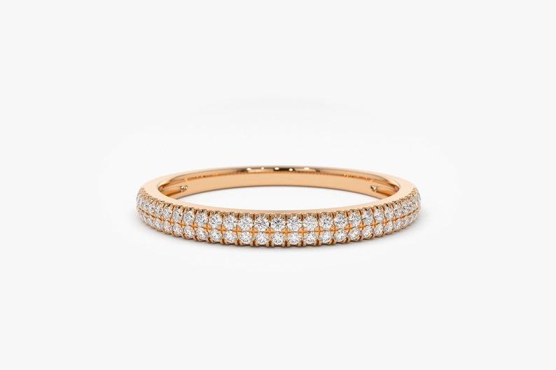Diamant Ring ELLA I 585er Roségold 0,28 Karat