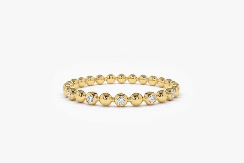 Diamant Ring VALENTINA I 585er Gold 0,08 Karat