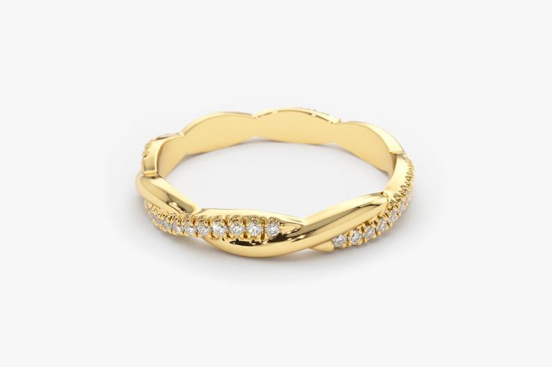Diamant Ring MAXIMA I 585er Gold 0,27 Karat
