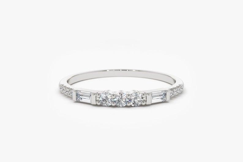 Diamant Ring MELISSA I 585er Weißgold 0,25 Karat