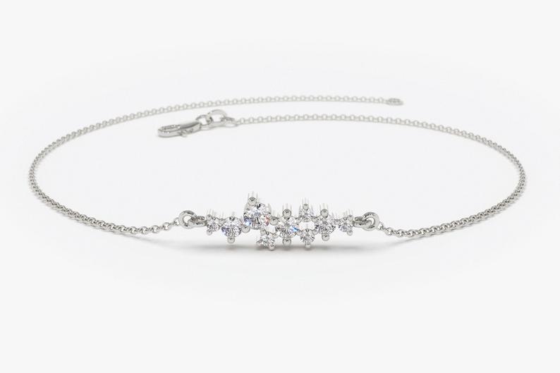 Diamant Armband JOHANA I 585er Gold 0,30 Karat