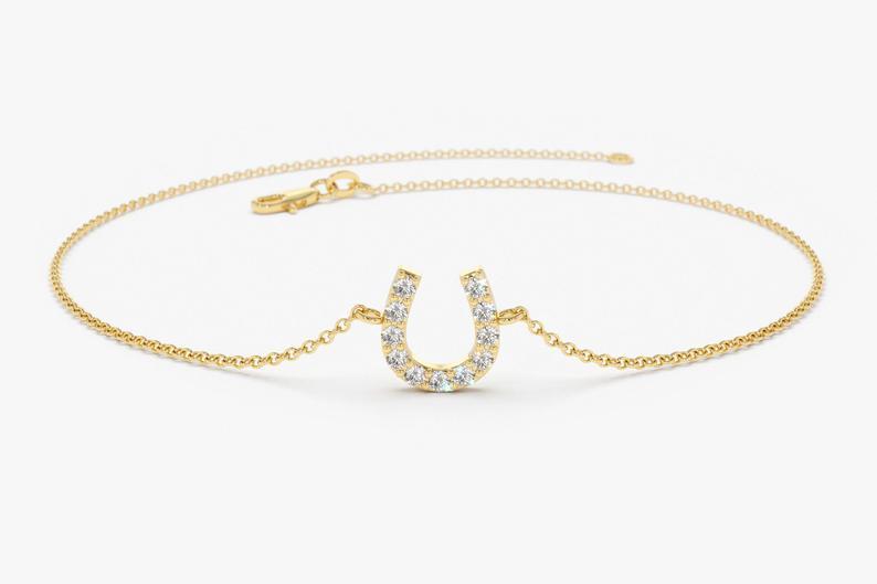 Diamant Armband LUNA I 585er RoseGold 0,08 Karat