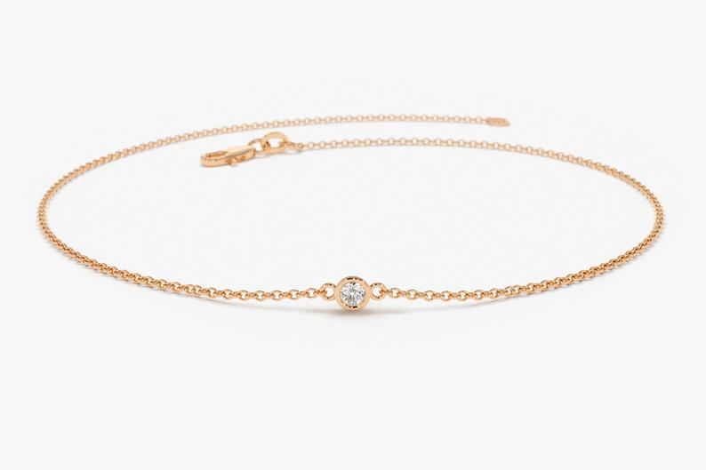 Diamant Armband NIARA I 585er RoseGold 0,05 Karat