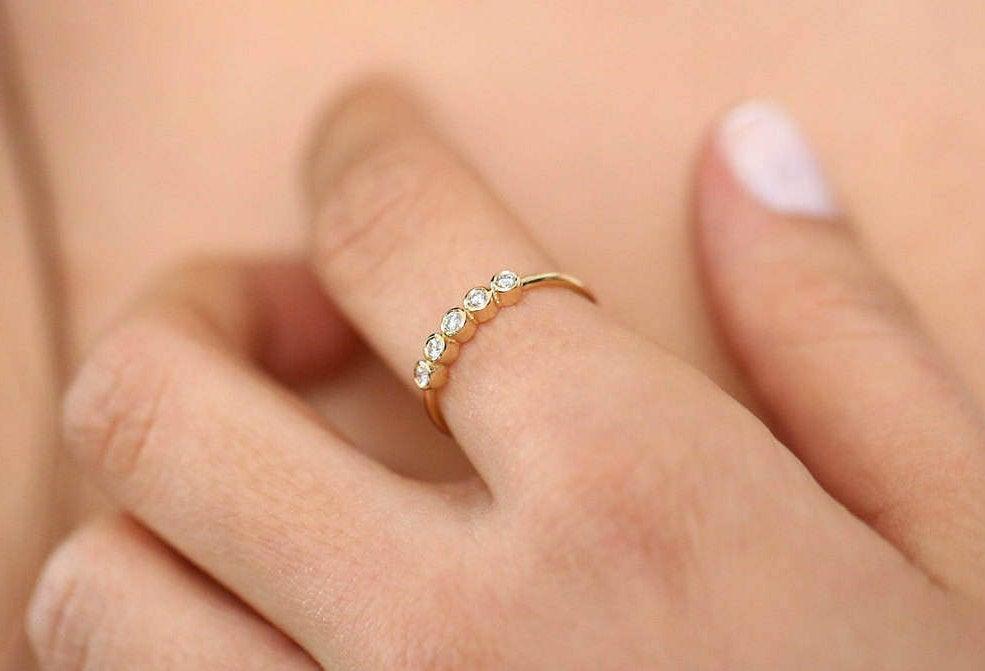 Diamant Ring ALAMA I 585er Weißgold 0,14 Karat