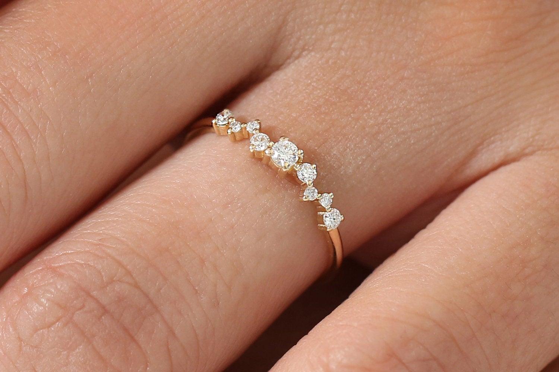 Diamant Ring LAURÉL I 585er Weißgold 0,23 Karat