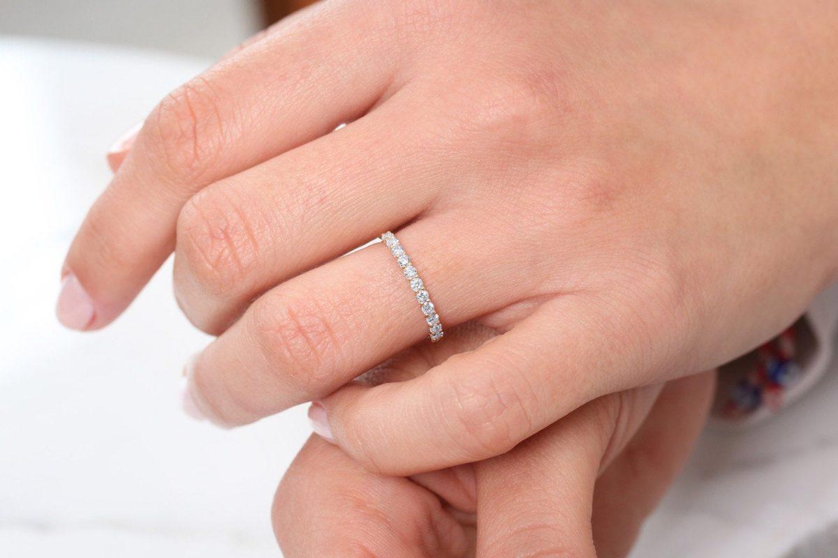 Diamant Ring MIA I 585er Roségold 0,41 Karat