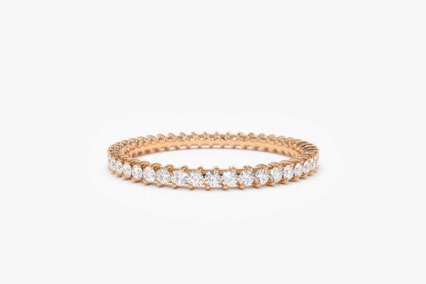 Diamant Ring ELISE I 585er Roségold 0,44 Karat