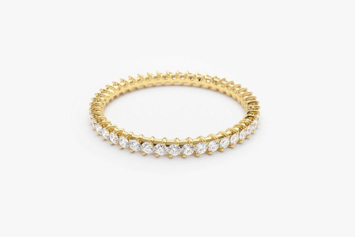 Diamant Ring ELISE I 585er Weißgold 0,44 Karat