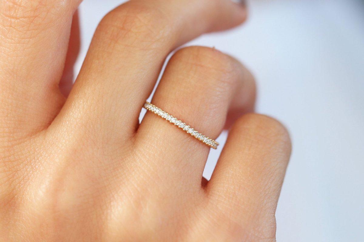 Diamant Ring ELISE I 585er Gold 0,44 Karat