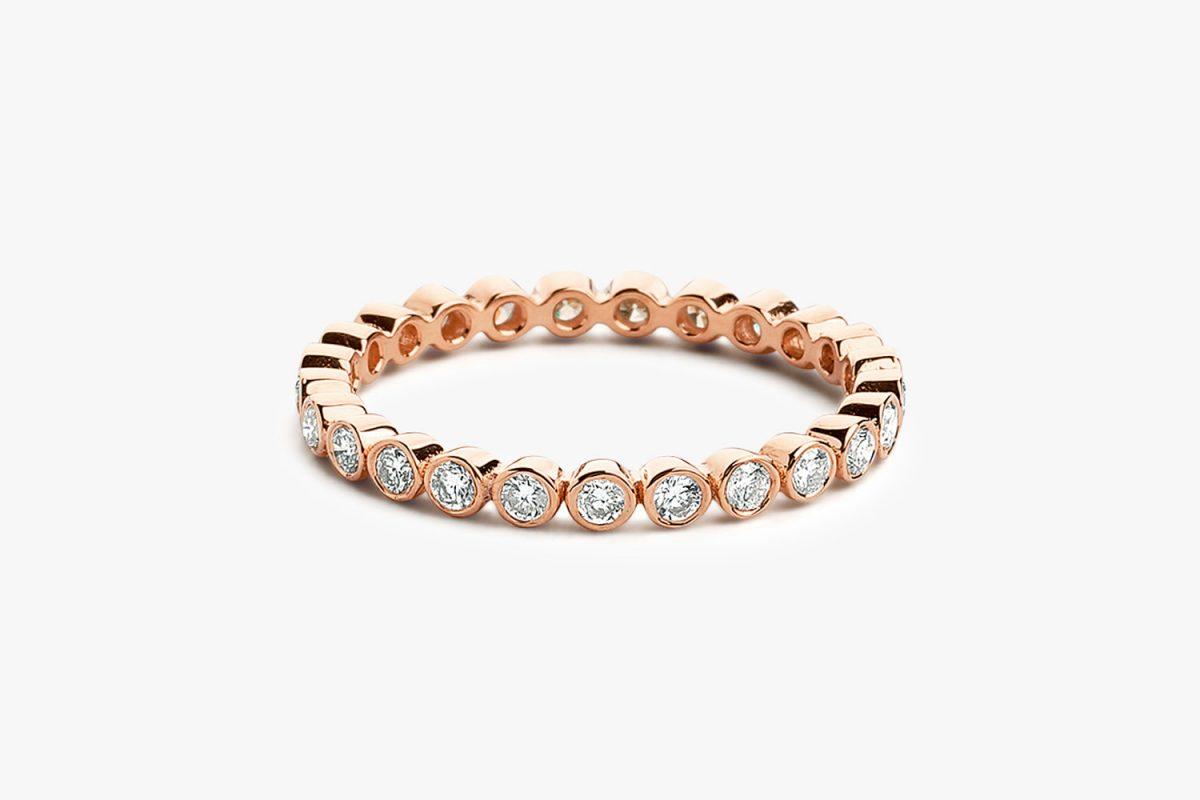 Diamant Ring LUNA I 585er Roségold 0,30 Carat