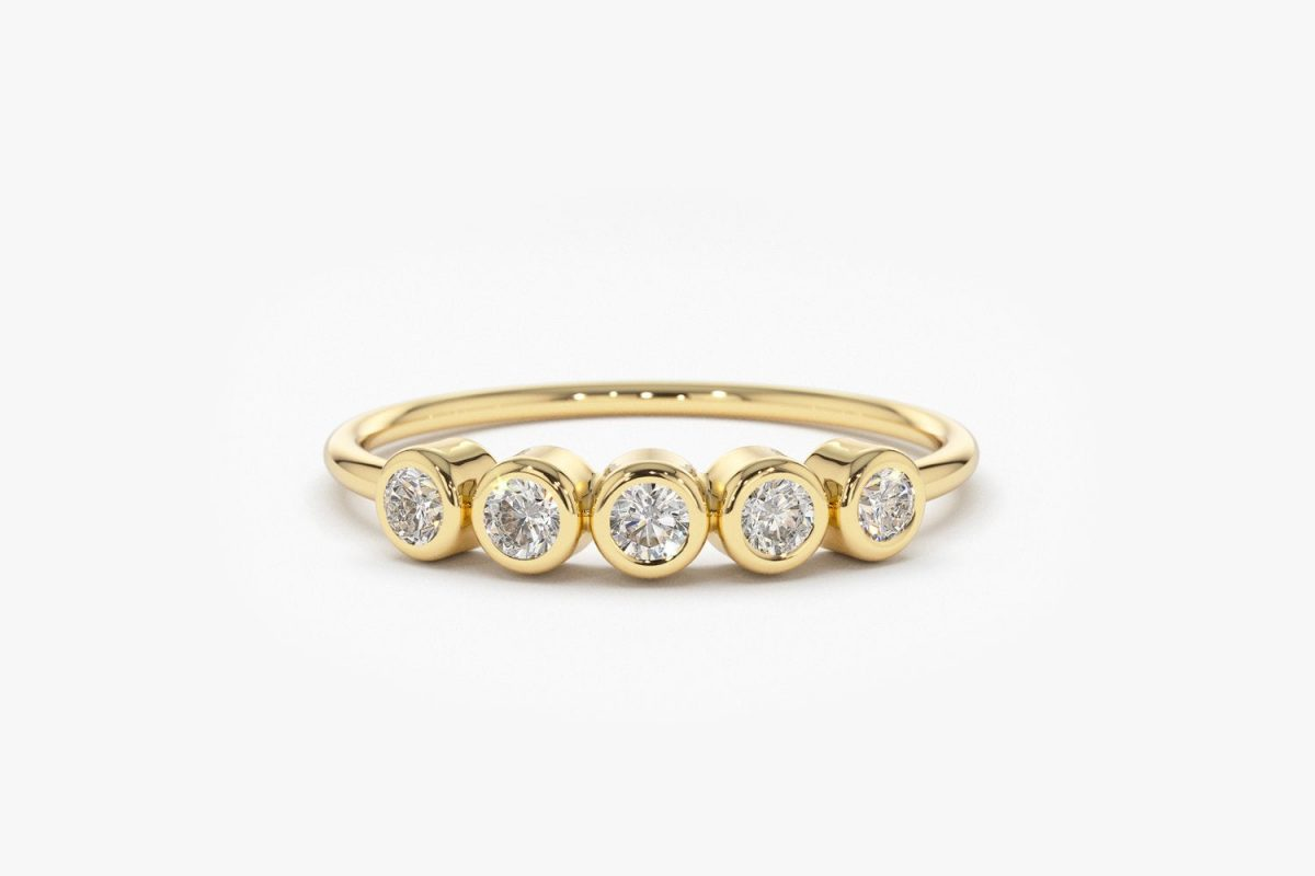 Diamant Ring ALAMA I 585er Gold 0,14 Karat
