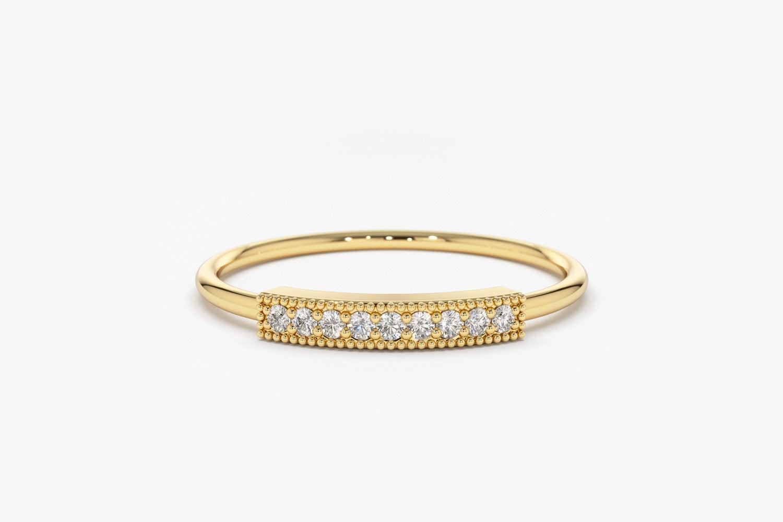 Diamant Ring AVA I 585er Roségold 0,07 Karat
