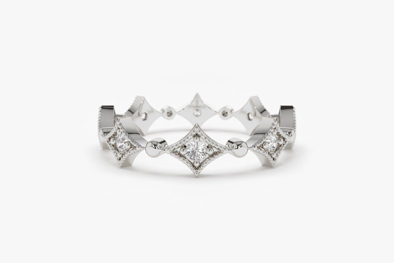 Diamant Ring OPHELIA I 585er Weißgold 0,17 Karat