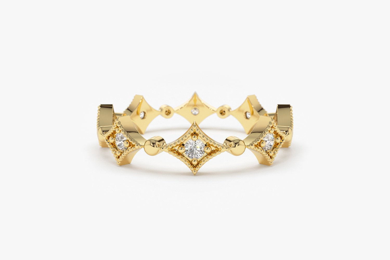 Diamant Ring OPHELIA I 585er Roségold 0,17 Karat