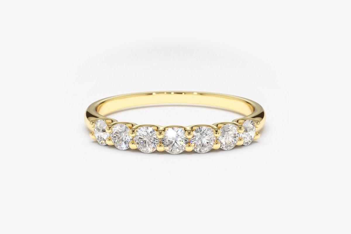 Diamant Ring MILENA I 585er Roségold 0,45 Karat