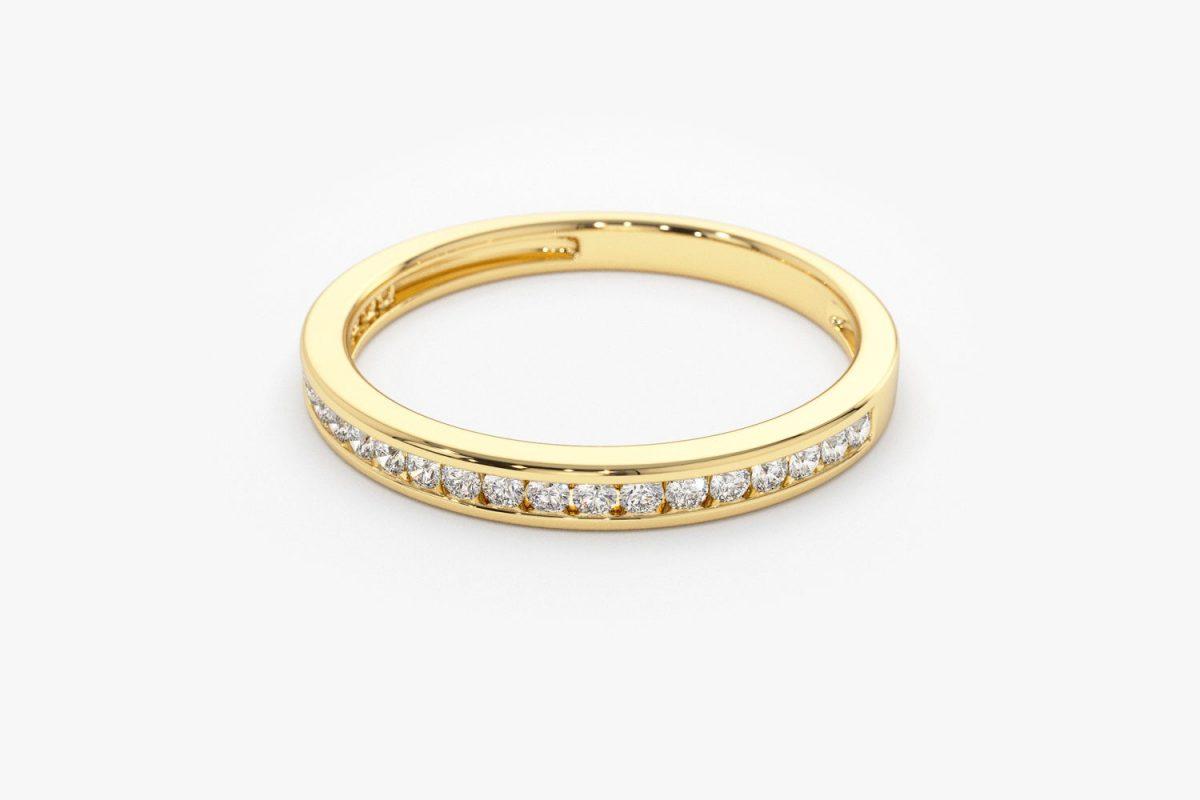 Diamant Ring ELIZABETH I 585er Roségold 0,55 Karat