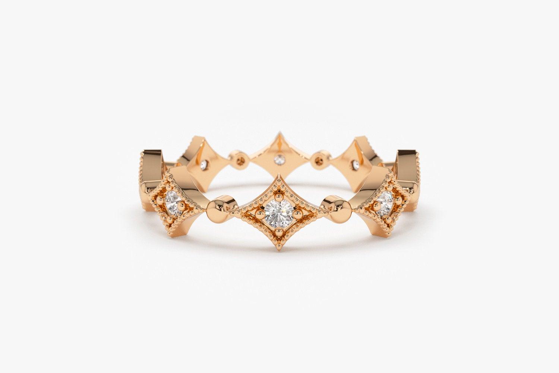 Diamant Ring OPHELIA I 585er Gold 0,17 Karat