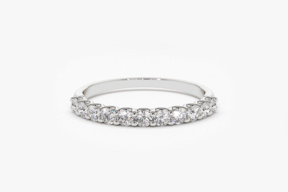 Diamant Ring MIA I 585er Weißgold 0,41 Karat
