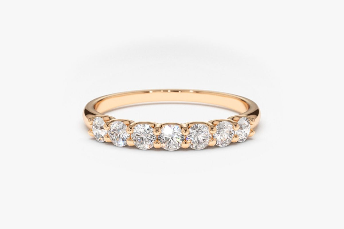 Diamant Ring MILENA I 585er Weißgold 0,45 Karat