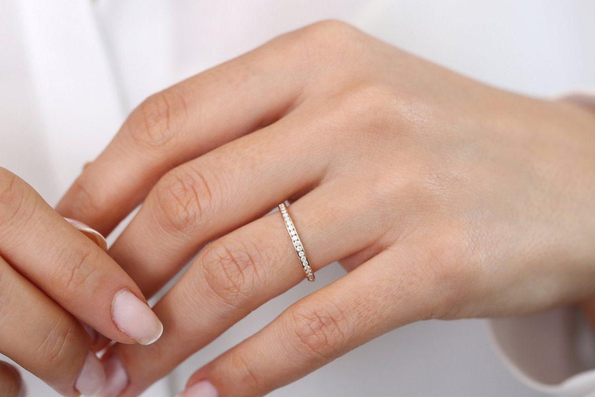 Diamant Ring ELIZABETH I 585er Weißgold 0,55 Karat