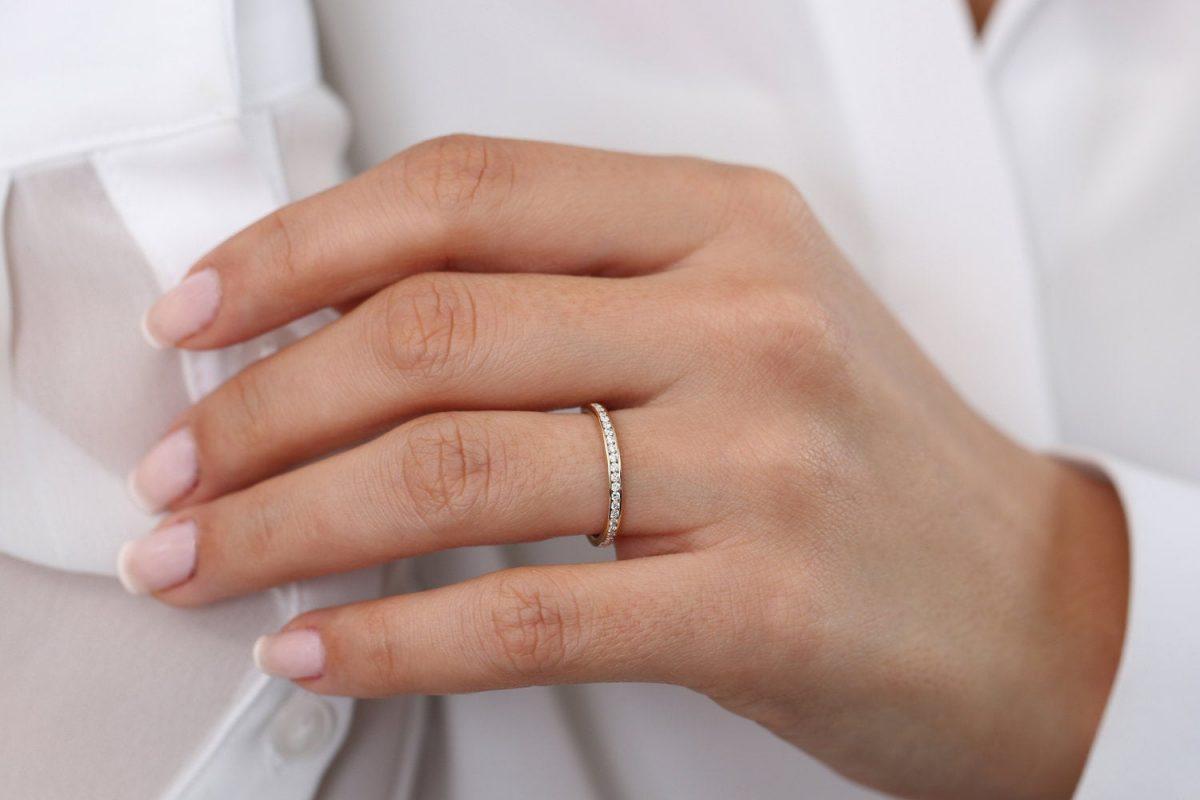 Diamant Ring ELIZABETH I 585er Gold 0,55 Karat
